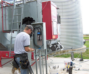 wiring-grain-dryer